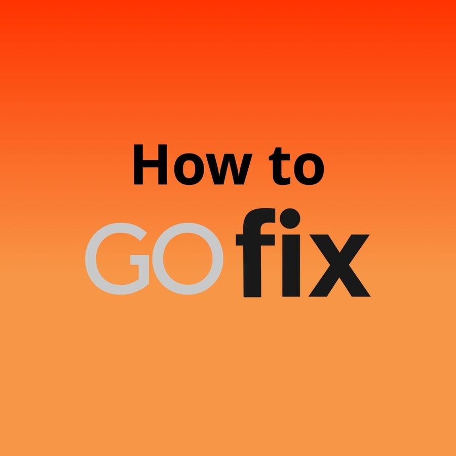 Thumbnail for how to gofix